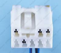 Разъем электрический 8-и контактный (21-13) б/у