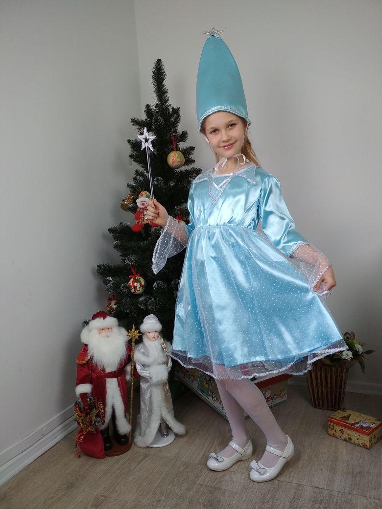 Детский карнавальный костюм для девочки Звездочка 128-134 р