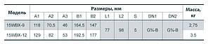 Насос підвищення тиску Насоси+ 15WBX-9 (+0,9 атм), фото 2