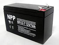 Аккумулятор 12В 7Ач (свинцово-кислотный)