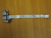 Плата с USB разъемами портом гнездом Acer Aspire 5552 LS-5891P бу