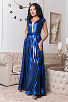 Вечернее платье с турецкого люрекса   (44-52)