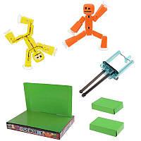 Конструктор-студия для создания мультфильмов StikBot (СтикБот) с оранжевым и желтым человечками
