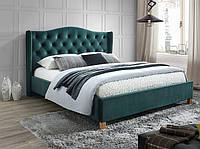Кровать Signal Aspen Velvet зеленый