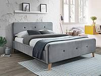 Кровать Signal Malmo Velvet серый
