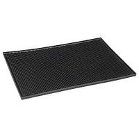 Барный коврик широкий 450*300 мм черный CO RECT США 15099