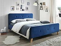 Кровать Signal Malmo Velvet синий