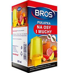 Ловушка для мух и ос с жидкостью Bros