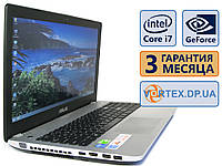 Ноутбук Asus N56JN 15.6 (1920x1080) / Intel Core i7-4710HQ (4x2.5GHz) / GeForce GTX 840M / RAM 6Gb / HDD 500Gb / АКБ 2 ч. 10 мин. / Сост. 8.5 БУ