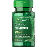 Puritan's Pride Selenium 200 mg 100 tabs