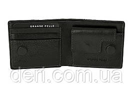 Кожаный портмоне, черный