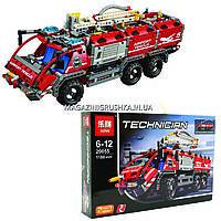 Конструктор Technician - Автомобиль пожарной бригады (Спасательный транспорт для аэропорта) 20033