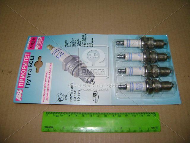 Свеча зажигания APS А-17ДВ-10 ВАЗ ( комплект 4 штук блистер) (производитель Энгельс) А-17ДВ-10