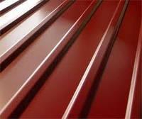 Профнастил стеновой ПК-20 RAL 8017(шоколод) 0.4 мм (1145/1110*2000)