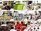 Комплект постільної білизни 160 х 200 см 4 частини бавовняний сатин, фото 4