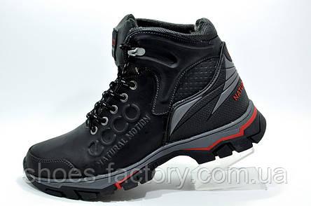 Зимние ботинки в стиле Ecco, на меху, фото 2