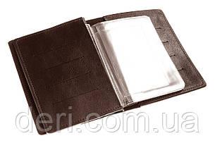 Обкладинка для документів, паспорта, автодокументів з відділом для карт, фото 2