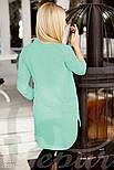 Стильная женская блуза мятного цвета, фото 3