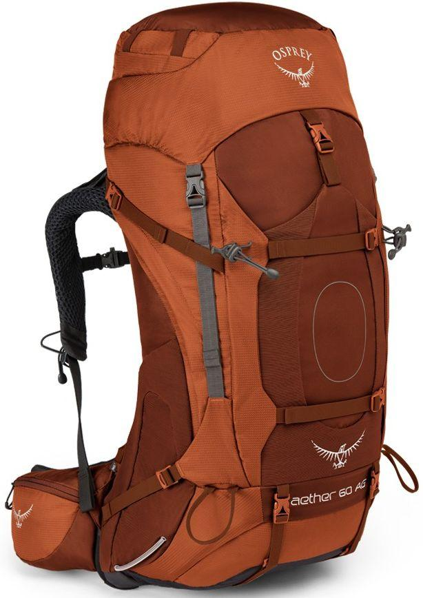 Туристичний рюкзак Osprey Aether AG 60 Outback Orange LG, 63 л, помаранчевий
