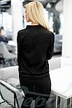 Стильная женская блуза черного цвета, фото 3