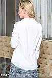 Стильная классическая белая блуза, фото 3