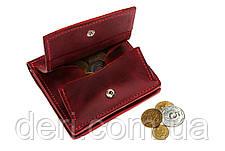 Бумажник с монетницей, бордо, фото 2