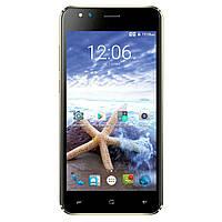 Смартфон на 2 сим карты 5 дюймов 4 ядра 1/8Gb Assistant AS-5421 Surf черный