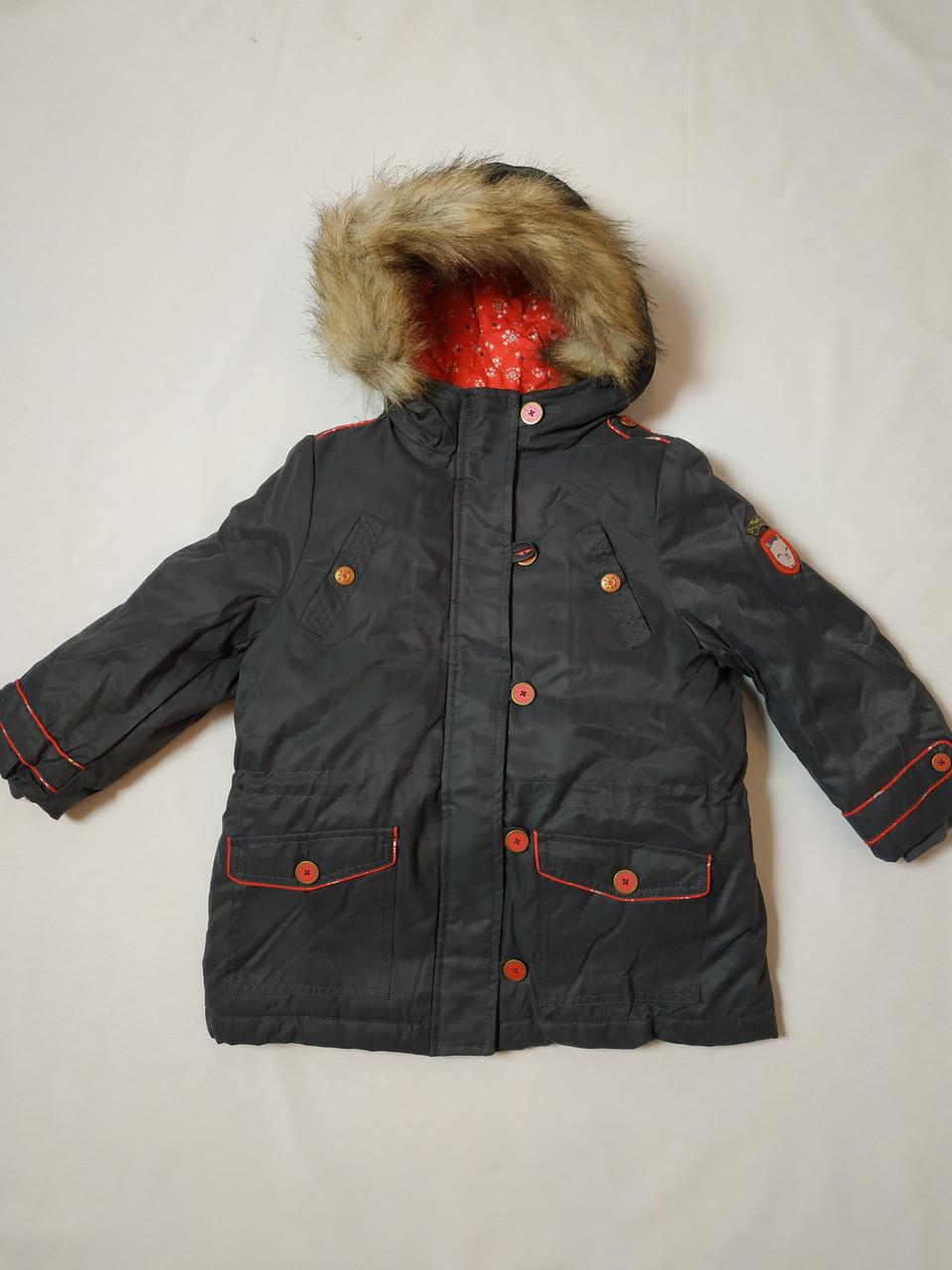 Зимняя куртка для девочки Sergent Major на 5 и 7 лет