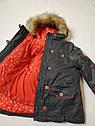 Зимняя куртка для девочки Sergent Major на 5 и 7 лет, фото 4