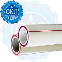 Труба со стекловолокном для отопления и водопровода 20 мм