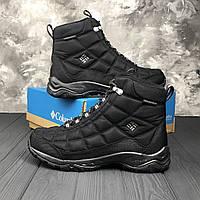 87955b0a503 Зимние мужские Ботинки ОРИГИНАЛ Columbia Firecamp Boot Black (Original)
