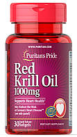 Puritan's Pride Red Krill Oil 500 mg 30 softgels