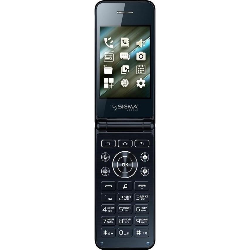 Телефон Sigma mobile X-Style 28 Flip Blue
