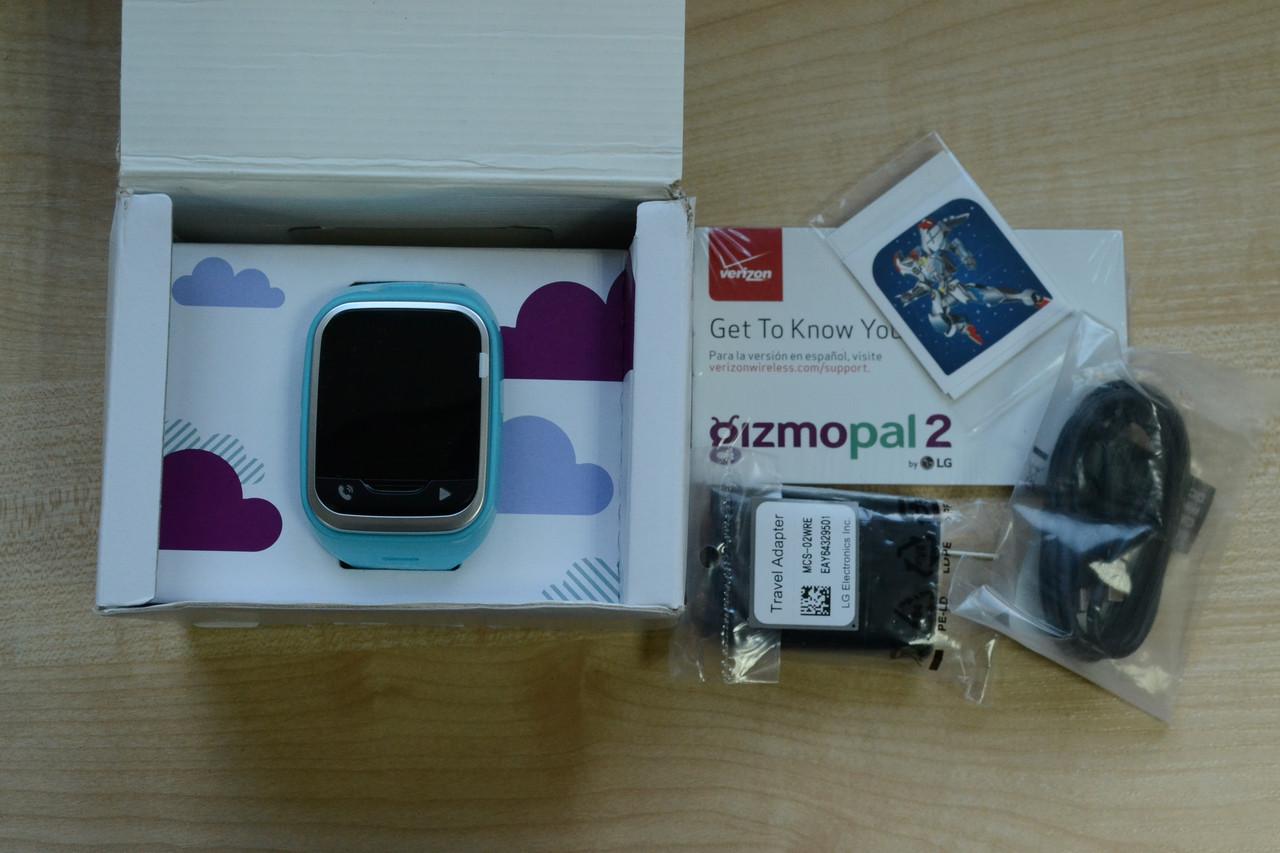 Новые Смарт часы LG Gizmopal 2 Blue Оригинал!