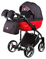 Детская коляска универсальная 2 в 1 Adamex Chantal Polar (Graphite) C3 (Адамекс Шанталь, Польша)