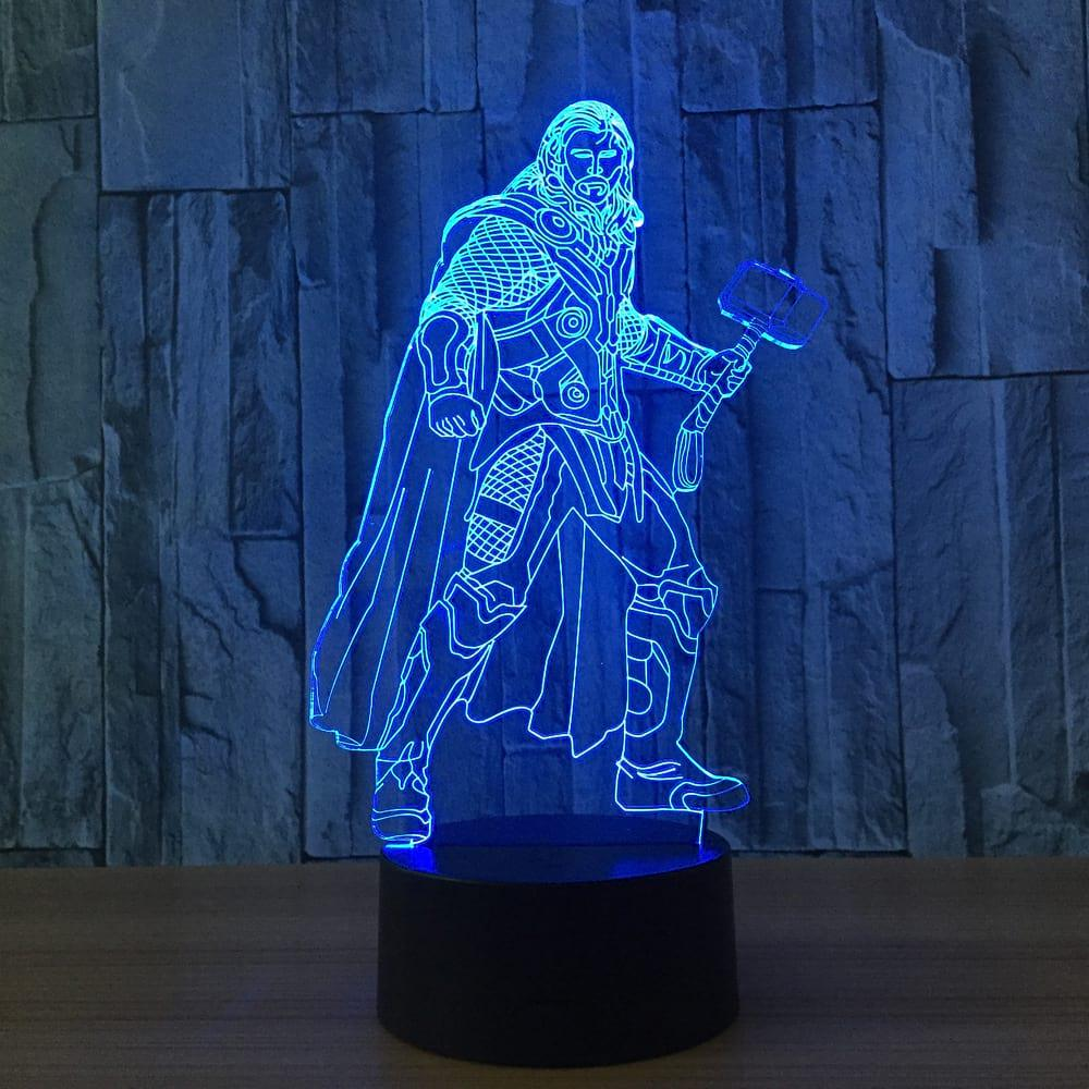 3D светильник 3D Lamp Тор (LP-1182)