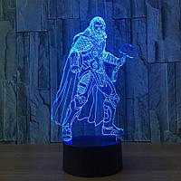 3D светильник 3D Lamp Тор (LP-1182), фото 1