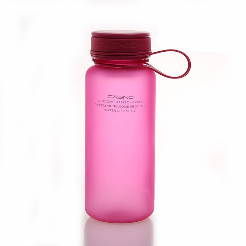 Бутылка для воды Casno 600 розовая (WB-760)