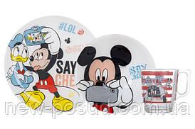Детский набор Luminarc Disney Party Mickey из 3 предметов N5278