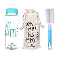 Бутылка для воды ME-GO My Bottle голубая (WB-689), фото 1