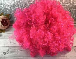 Парик клоуна розовый