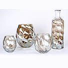 Ваза AMAZING vase s gold_smokey 672353-PT PTMD Collection, фото 2