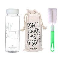 Бутылка для воды ME-GO My Bottle белая (WB-687), фото 1