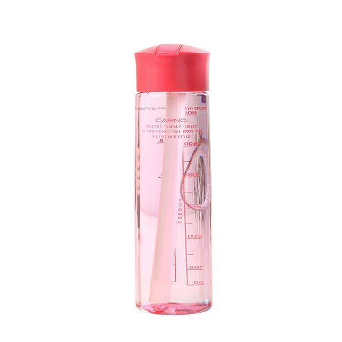 Бутылка для воды Casno 700 розовая (WB-583)