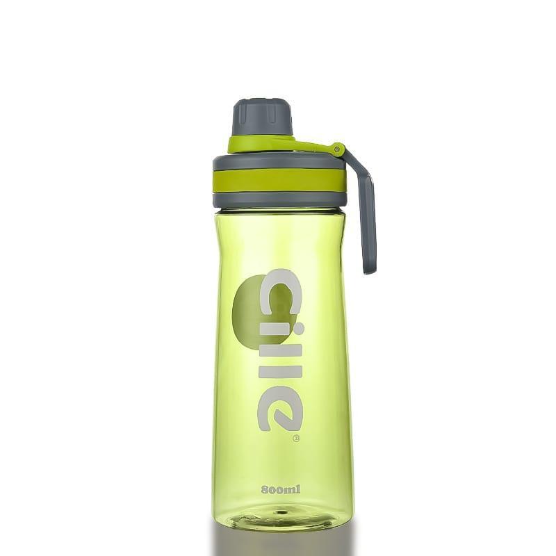 Бутылка для воды Cille 800 зеленая (WB-566)