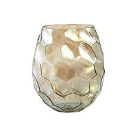 Ваза для цветов PTMD AMAZING vase s gold_smokey 672353-PT