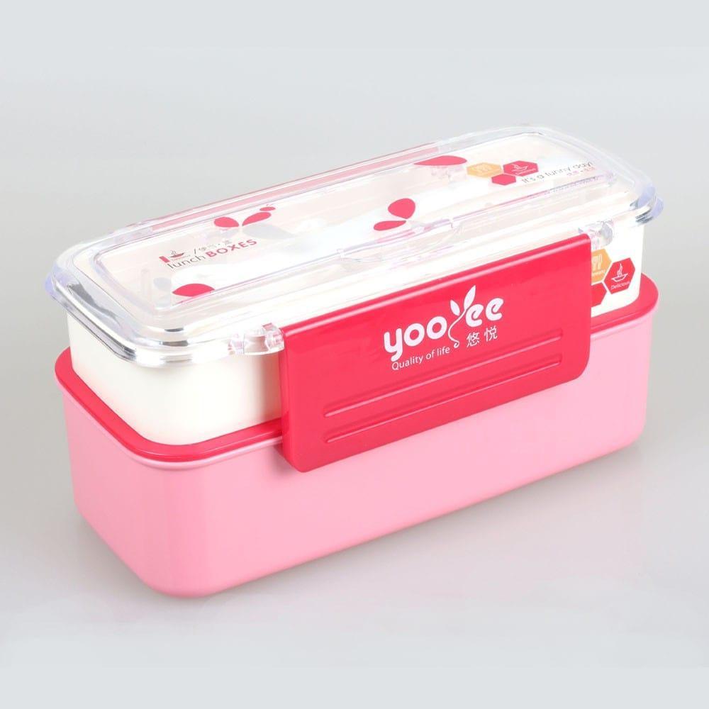 Ланч-бокс YooYee Office style розовый (LB-505)