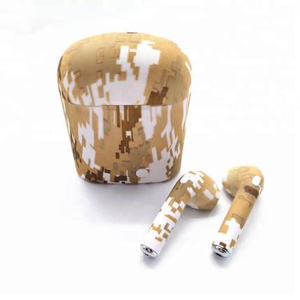 Беспроводные Наушники TWS i7S Camouflage (FW008), фото 2