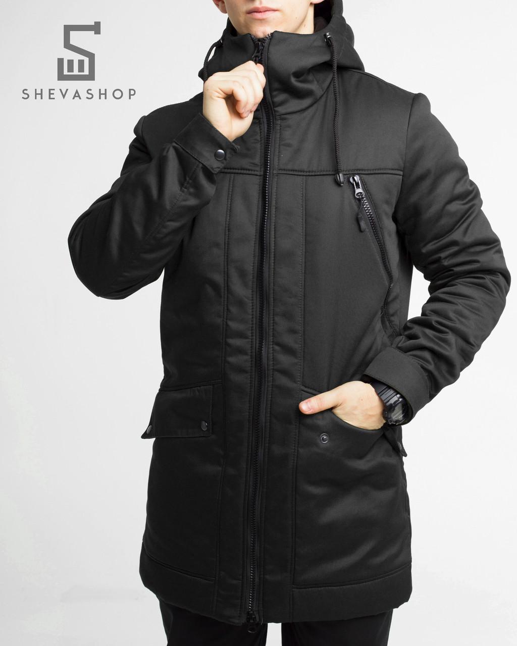 6f04d1dfa793 Зимняя мужская куртка ТУР Grizli черная