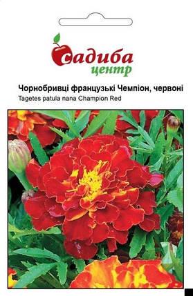 Семена бархатцев Чемпион красные 0,2 г, Hем Zaden, фото 2